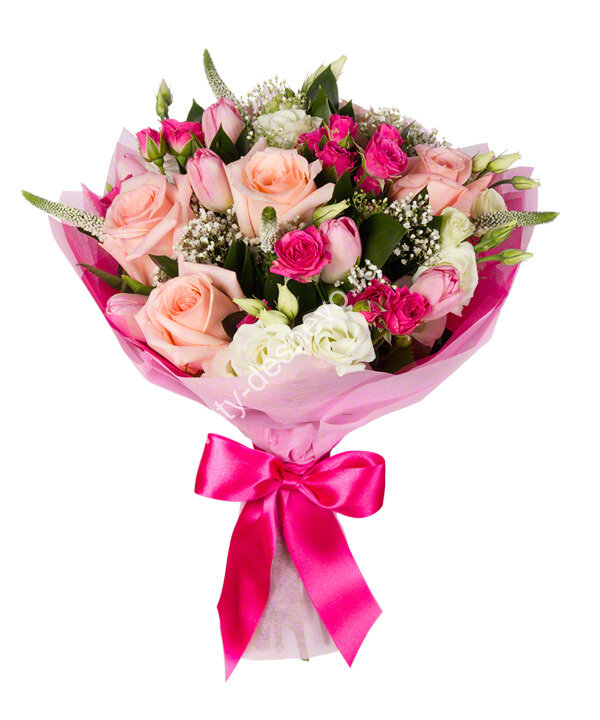 Самые популярные букеты цветов